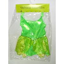 Disney Campanita Disfraz Vestido 2-4-6-8-10-12 Años
