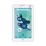 Tablet Dl Social Phone 700 Dual Chip 3g Tx316 Rosa Neon