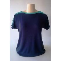 Blusa Tricô Em Modal M G Gg Tamanho Grande (verão) Plus Size