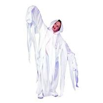 Disfraz Para Niño Gran Traje Blanco Fantasmales Ghost- Robe