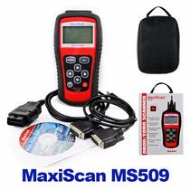 Escáner Automotriz Autel Maxiscan Ms509 Obd2/eobd