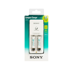 Cargador De Pilas + 2 Pilas Bcg34hw2ga Sony Store