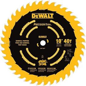Disco Sierra 40 Dientes 10in Madera Dw7140pt Dewalt