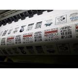 Etiquetas Transparentes Para Frascos De Vidrio