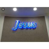 Letras Letreiros Fachadas Placas Em Aço Inox Igreja E Lojas