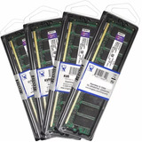 Kit 2 Memória Kingston 2gb Ddr2 800mhz Pc2-6400 Total 4gb Pc