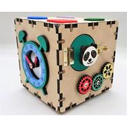Mini Cubo Sensorial Estilo Montessoriano: