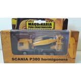 Camión De Hormigon Scania P380 Colección Máquinas Viales