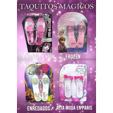 Juguetes Kit De 8 Sandalias Taquitos Princesa Moda Magica.