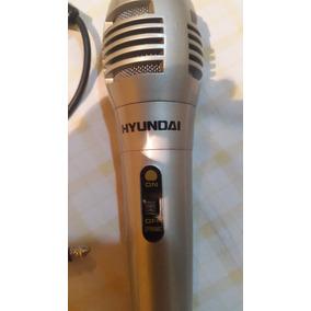 Microfono Hyundai Con Cable