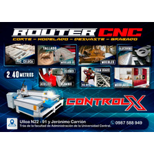 Corte Laser,router Cnc Industrial 240x120cm.volantes,tarjeta