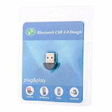 Adaptador Usb Bluetooth 4.0 Csr Dongle Para Pc E Notebook