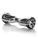 Balance Scooter Eléctrico Litio Bluetooth, Gris Metal