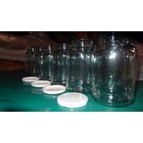 50 Frascos, Bollones De Vidrio Con Tapa Girotap-conservas