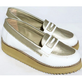 Mocasines Talle 43 43 de Mujer Blanco en Bs.As. G.B.A. Sur en ... be3ac2995d9a