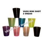 Vaso Mini Shot 2 Oz Mini Postre Cocteleria Evento Pasapalo