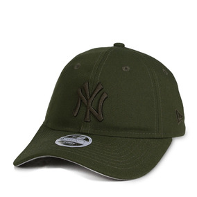 Boné New Era Strapback New York Yankees Aba Curva   Verde 958c1b84c5e