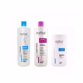 Agilise Shampoo Open 1l+k1 Pérola Argan 1l+neutralizante 1k