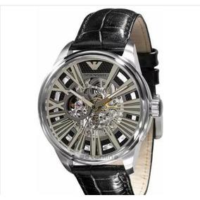 Relógio Masculino Armani Pulseira De Couro Frete Gratis !