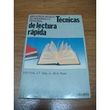 Libro Tecnicas De Lectura Rapida Como Nuevo