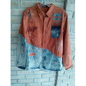 Camisa Tipo Denim Vintage M. ( Diesel True Mqcuen )