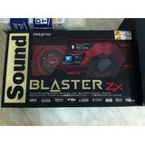 Tarjetas De Sonido Sound Blaster Zx 24 Bits (envio Gratis)