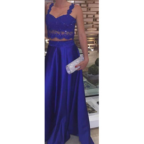 Vestido De Fiesta Largo (blusa Y Falda)