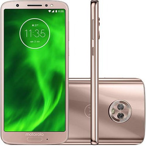 Smartphone Motorola Moto G6 Dual 64gb Android 8.0 Ouro Rose