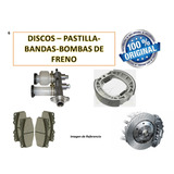 Bandas De Freno Trasero Fiatfiorino Fire 1.3cc 8v (96/12)