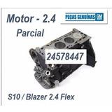 Motor Parcial S10 E Blazer 2.4 Flex (novo)