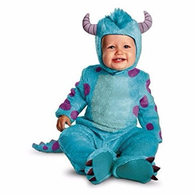 Disfraz Monsters Inc Sullivan Para Bebe De 6-12 Meses