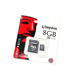 Kingston Lote Kit 10 Piezas Micro Sd 8gb Clase 4 Mayoreo