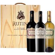 Vino Rutini Regalo Estuche Madera X3 Edición Limitada