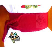 Hermosas Fajas De Telar De Cintura Para Blusas De Chiapas