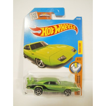 Hot Wheels 69 Dodge Charger Daytona Verde 124/250 2016