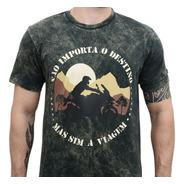 Camiseta Moto Big Trail Bmw Triumph Honda Não Importa O ...