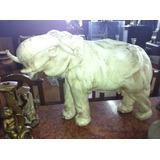 Antiguo Elefante De Ceramica, Adorno, Muy Decorativo **