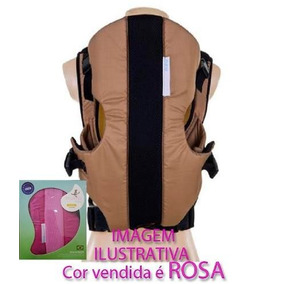 Canguru Finissima Baby Weekend Até 9kg 2 A 12 Meses Rosa Pin
