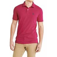 Envio Imediato Em 24 Hs.  Camisa Polo Masculino Rosa H