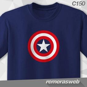 Remeras Capitán América, Spiderman, Venom, Iron Man, Marvel
