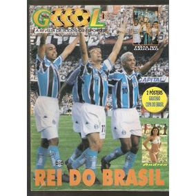 Revista Goool Grêmio Tetra Campeão Copa Do Brasil + Poster