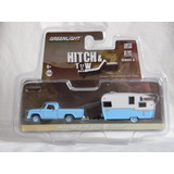 Greenlight 1963 Dodge D-100 And Shata Airflyte Hitch & Tow