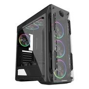 Gabinete Gamer Gamemax Optical Rainbow G510 Rgb + Controle