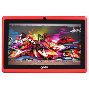 Tablet Ghia Quattro Bt 47418r Roja