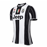 Jersey Juventus 16-17 Local M. Corta + Parches Serie A