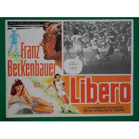 Franz Beckenbauer Libero Futbol Football Cartel De Cine 1