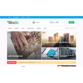Site Completo De Notícias, Revista Ou Blog Em Wordpress