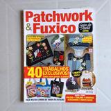 Revista Patchwork E Fuxico Bolsas Kit Para Banheiro Avental