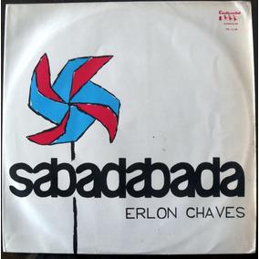 Lp Erlon Chaves Sabadabada Vinyl Vermelho Nunca Tocado