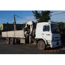 Camion Con Hidrogrua Para 5900 Kg.